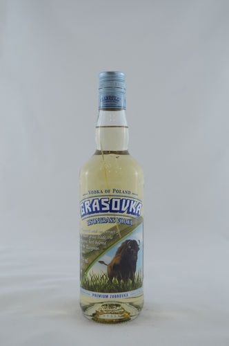 Grasovka Bisongrass Vodka_