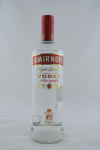 Smirnoff Vodka No.21 Red Label_