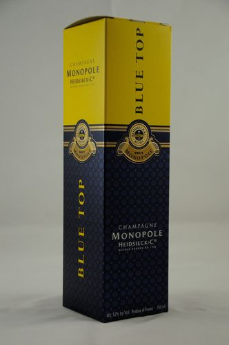 Heidsieck & Co Monopole Champagne Blue Top_
